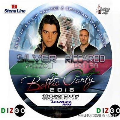 DJ Manuel Rios - Baltic Party Megamix 2018 - Silver Pozzoli & Riccardo Campa [2018]