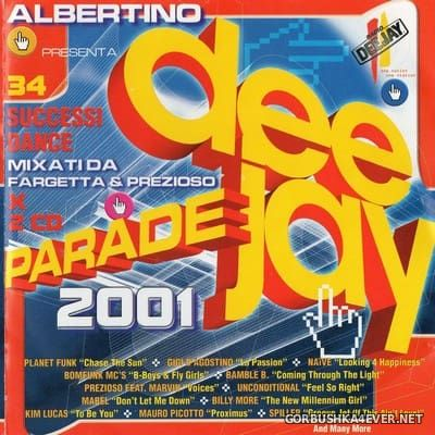 [Time] Deejay Parade 2001 [2000] / 2xCD / Mixed by Fargetta & Prezioso