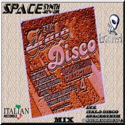 DJ Divine - ZYX Italo Disco SpaceSynth Collection 4 In The Mix [2018]