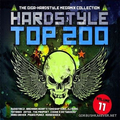 Hardstyle Top 200 vol 11 [2017] / 4xCD / Mixed by DJ Deep