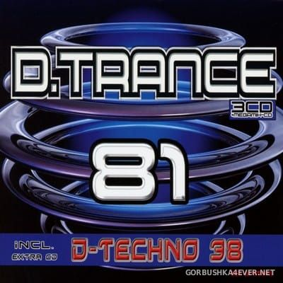 D.Trance 81 (Incl. D.Techno 38) [2018] / 4xCD