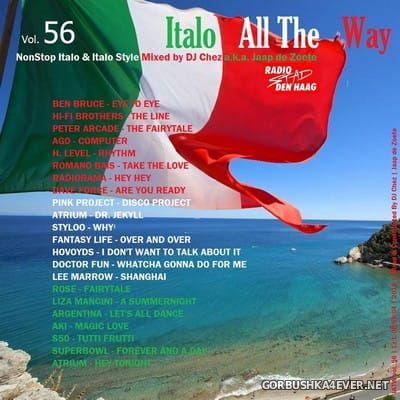 DJ Chez - Italo All The Way vol 56 [2018]