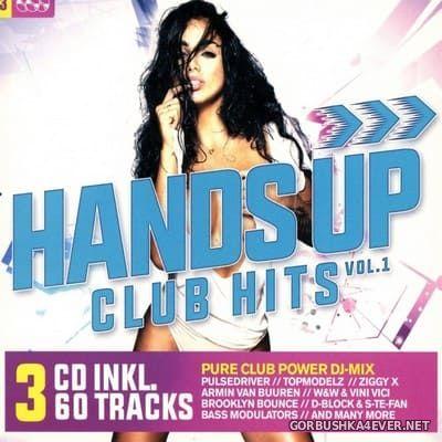 Hands Up Club Hits vol 1 [2018] / 3xCD