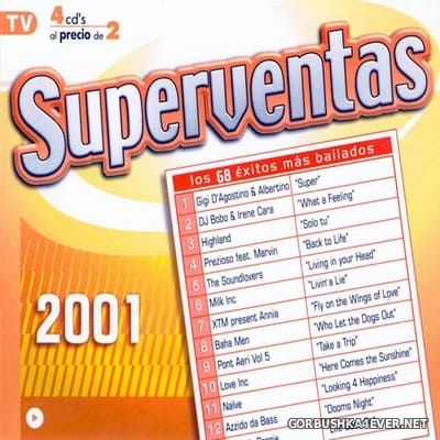[Vale Music] Superventas 2001 [2001] / 4xCD