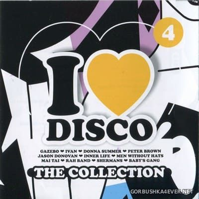 [Blanco Y Negro] I Love Disco - The Collection vol 4 [2017] / 2xCD