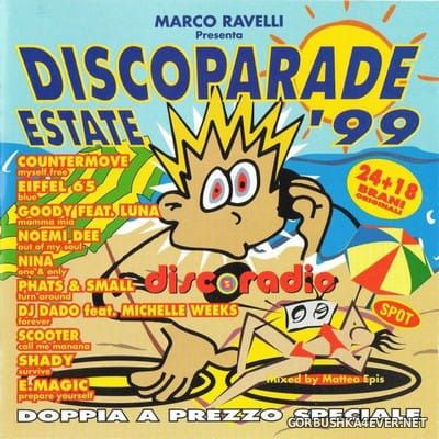 Discoparade Estate '99 [1999] / 2xCD / Mixed by Matteo Epis