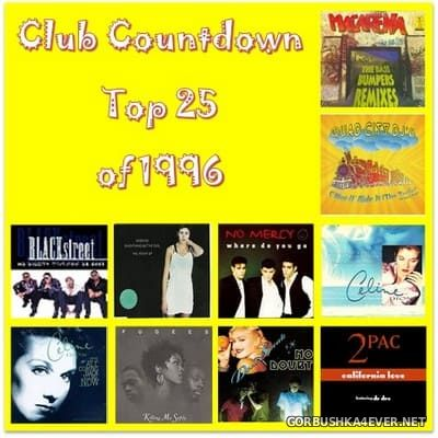 Top 25 Of 1996 Club Countdown