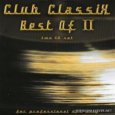 X-Mix Club Classics - Best Of vol 2 [1999] / 2xCD