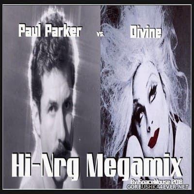 DJ SpaceMouse - Paul Parker vs Divine HiNRG Megamix [2018]