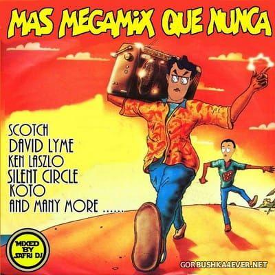 DJ Safri - Mas Megamix Que Nunca [2018]