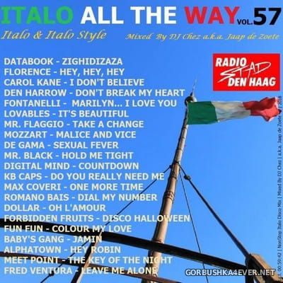 DJ Chez - Italo All The Way vol 57 [2018]