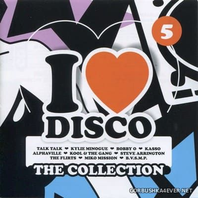 [Blanco Y Negro] I Love Disco - The Collection vol 5 [2018] / 2xCD