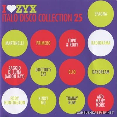 ZYX Italo Disco Collection vol 25 [2018] / 3xCD