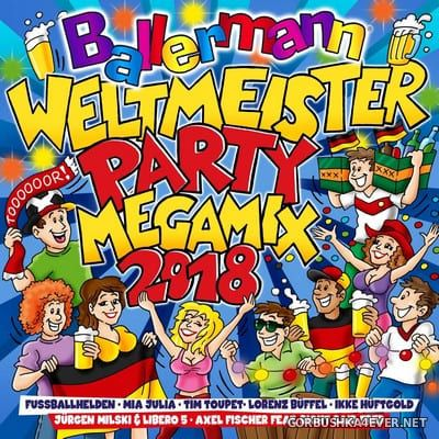 Ballermann Weltmeister Party Megamix 2018 / 2xCD / Mixed by DJ Deep