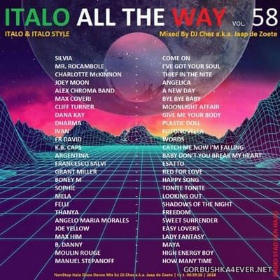 DJ Chez - Italo All The Way vol 58 [2018]