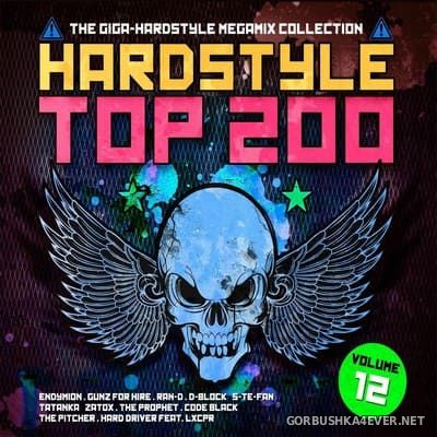 Hardstyle Top 200 vol 12 [2018] / 4xCD / Mixed by DJ Deep