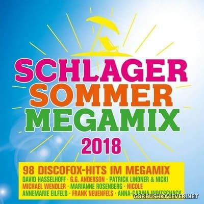 Schlager Sommer Megamix 2018 [2018] / 2xCD / Mixed by DJ Deep