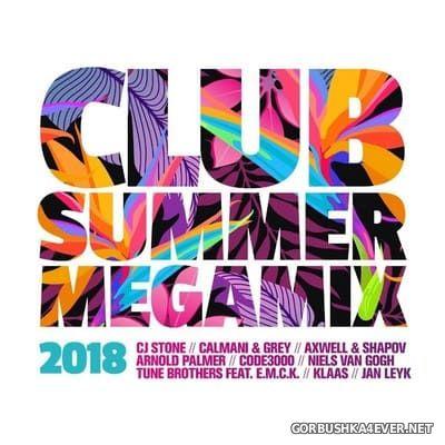 Club Summer Megamix 2018 [2018] / 2xCD / Mixed by DJ Deep
