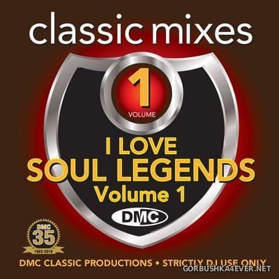 [DMC] Classic Mixes - I Love Soul Legends vol 1 [2018]
