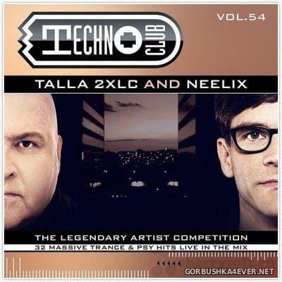 Techno Club vol 54 [2018] / 2xCD