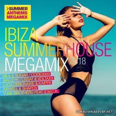 Ibiza Summerhouse Megamix 2018 [2018] / 2xCD / Mixed by DJ Deep
