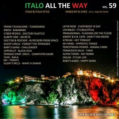 DJ Chez - Italo All The Way vol 59 [2018]