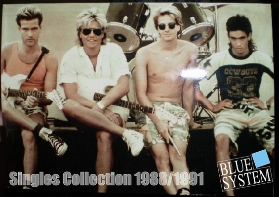 Blue System - Singles Collection [1988-1991] / 14xCD
