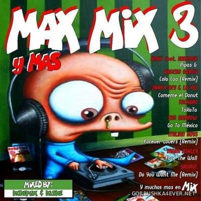 Max Mix 3 Y Mas [2018] Mixed By Kokemix DJ & Kiske