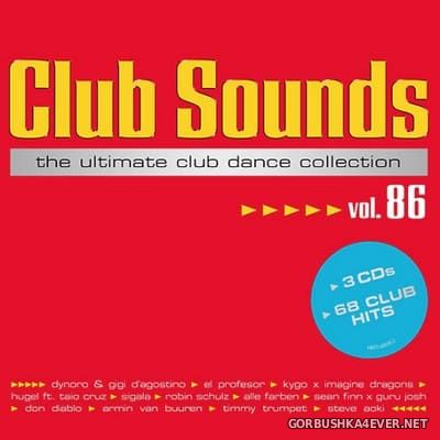 Club Sounds vol 86 [2018] / 3xCD