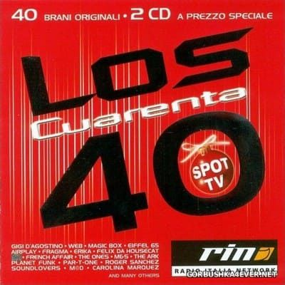 Los Cuarenta Inverno 2001 [2001] / 2xCD / Mixed by Alex C & DJ Speciale