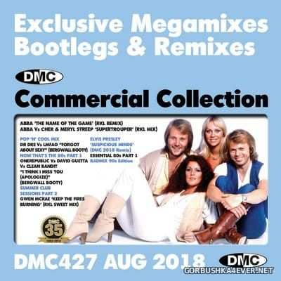 DMC Commercial Collection 427 [2018] August / 2xCD