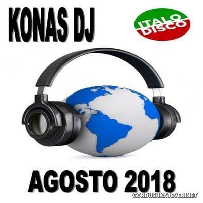 Konas DJ - Italo Disco Agosto Mix 2018