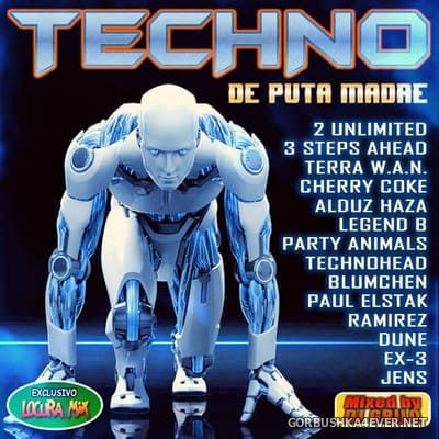 Techno - De Puta Madre [2018] / 2xCD / Mixed by DJ Grilo