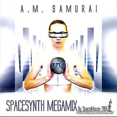 DJ SpaceMouse - A.M. Samurai Spacesynth Megamix [2018]