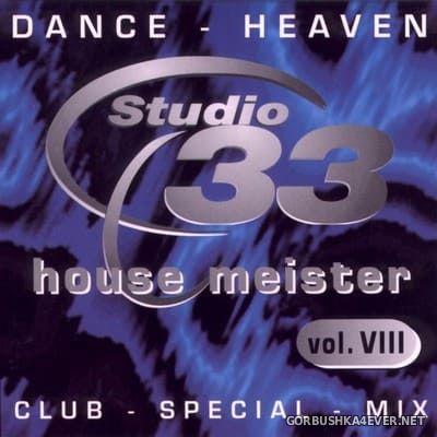 [Studio 33] House Meister vol 8 [2000]