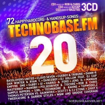 Technobase.FM vol 20 [2018] / 3xCD