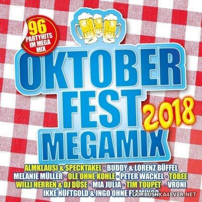 Oktoberfest Megamix 2018 / 2xCD / Mixed by DJ Deep