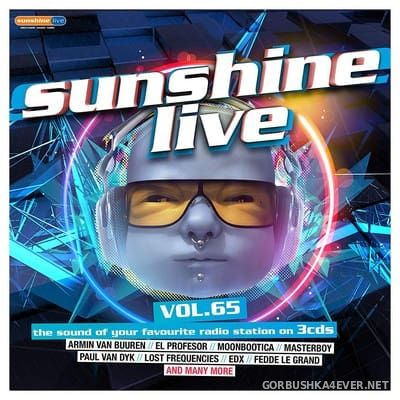Sunshine Live vol 65 [2018] / 3xCD