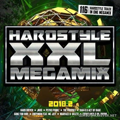 Hardstyle XXL Megamix 2018.2 [2018] / 2xCD / Mixed by DJ Deep