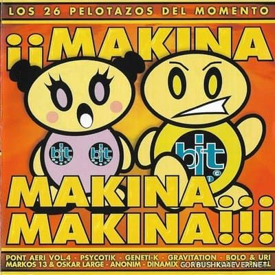 [Arcade] ¡¡Makina, Makina... Makina!! [1999] / 2xCD