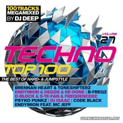 Techno Top 100 vol 27 [2018] / 2xCD / Mixed by DJ Deep