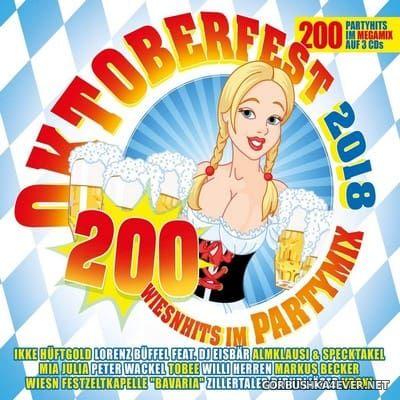 Oktoberfest 2018 - 200 Wiesenhits Im Partymix [2018] / 3xCD / Mixed by DJ Deep