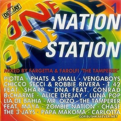 [Time] One Nation One Station [1999] / 2xCD / Mixed by Farolfi & Fargetta