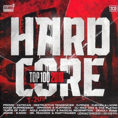 Hardcore Top 100 2018 [2018] / 2xCD / Mixed by Roy van Schie