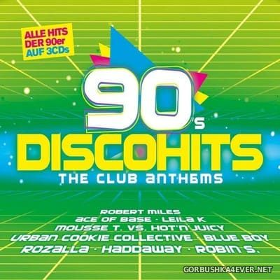 90s Disco Hits - The Club Anthems [2018] / 3xCD