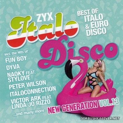 ZYX Italo Disco - New Generation vol 13 [2018] / 2xCD