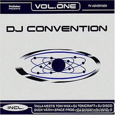 DJ Convention - Volume One [1998] / 2xCD / Mixed by Hiver & Hammer