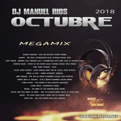 DJ Manuel Rios - Octubre Italo Mix 2018