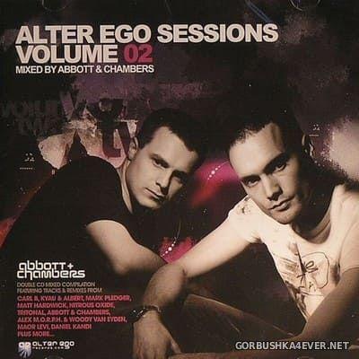 Alter Ego Sessions vol 2 [2008] / 2xCD / Mixed by Matt Abbott & Chris Chambers