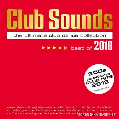 Club Sounds - Best Of 2018 [2018] / 3xCD